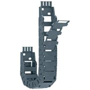 IGUS 15-015-075-0-3 Cable Carrier,Mini,Open,OW1.02In / 26mm