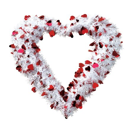 Valentine Glitter Wreath by Holiday PeakTM - Valentine Wreath