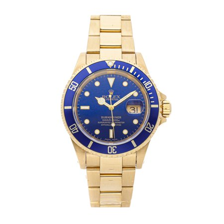 Pre-Owned Rolex Submariner 16618 Watch (2-Year WatchBox warranty)