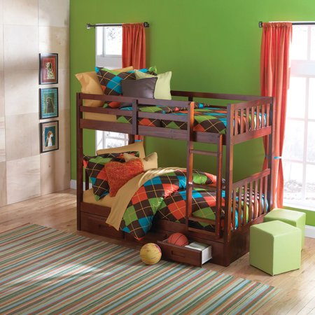 Cambridge Slide Out Trundle Youth Bunk Beds