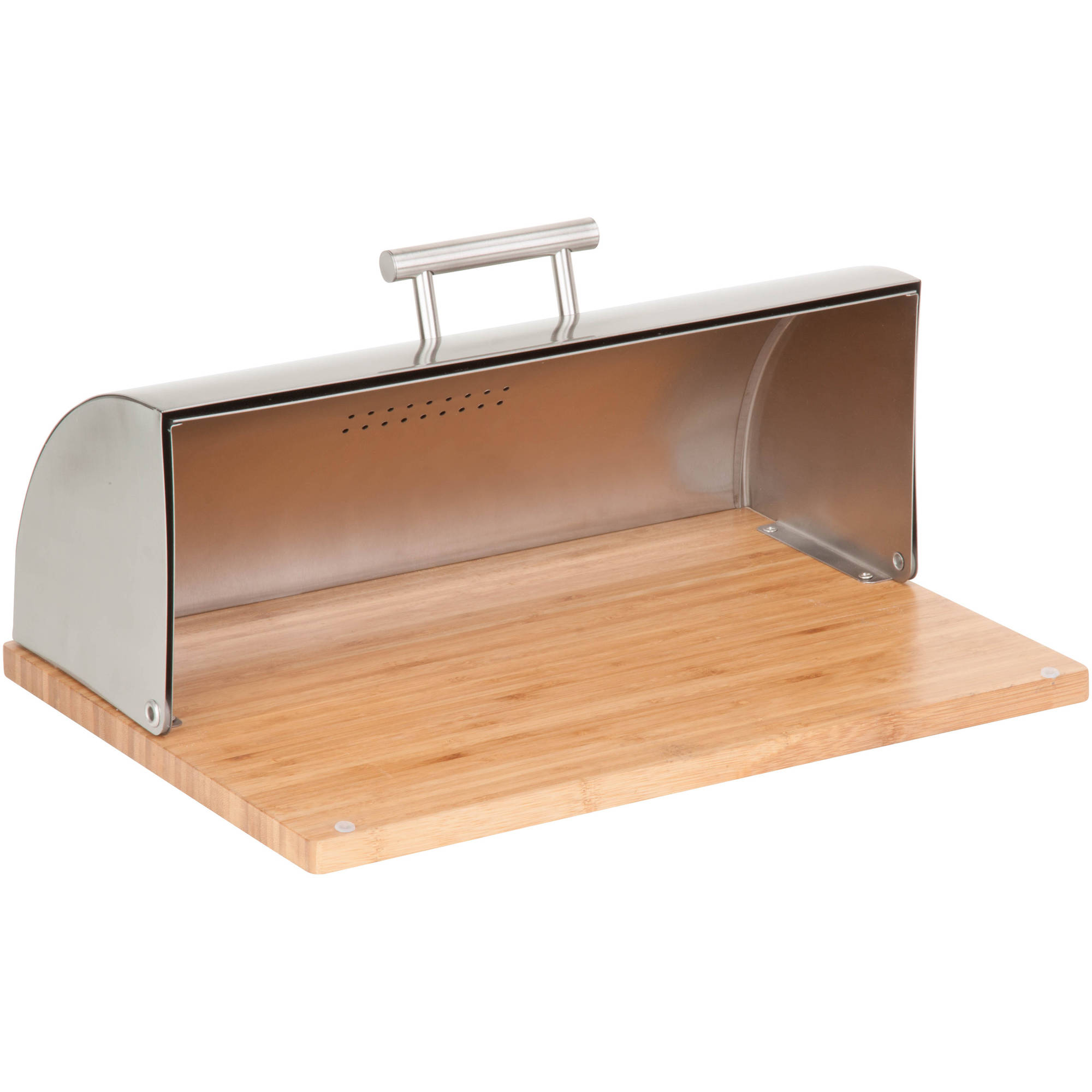 Better Homes And Gardens Stainless Steel Bread Box Walmartcom