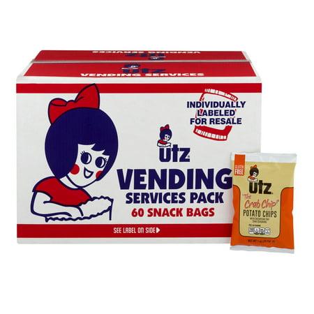 - Utz Potato Chips, Crab 1 oz. 60 count Box