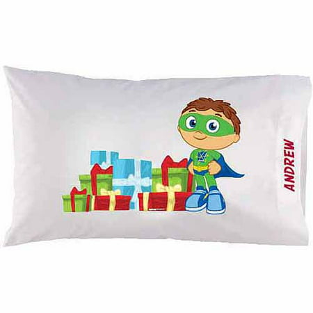 Personalized Super Why! Gifts Pillowcase