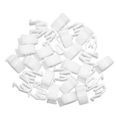 30pcs Universal White Car Console Retainer Auto Dashboard Instrument Clip - image 2 of 2