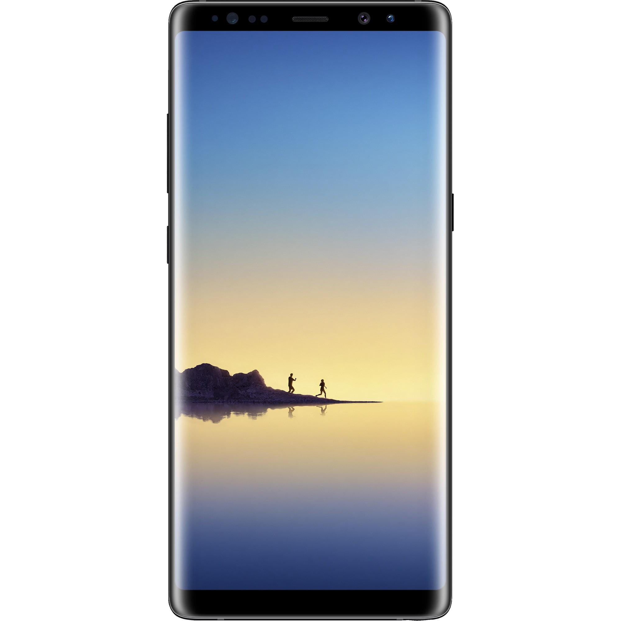 Total Wireless SAMSUNG Galaxy Note 8, 64GB Black - Prepaid Smartphone