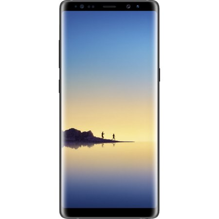 Total Wireless SAMSUNG Galaxy Note 8, 64GB Black - Prepaid Smartphone