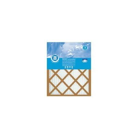 True Blue 220201 Pleated Air Filter, 20 in L x 20 in W x 1 in T per 12 EA