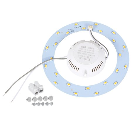 12W 24 LEDs 5730 SMD  Chip Module Aluminum Board Warm White 155mm (5 Chips Warm White Led)