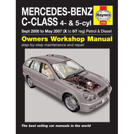 Mercedes-Benz C-Class Service and Repair Manual (Haynes Service and Repair Manuals) (Paperback) (Mercedes 300td Service Manual)