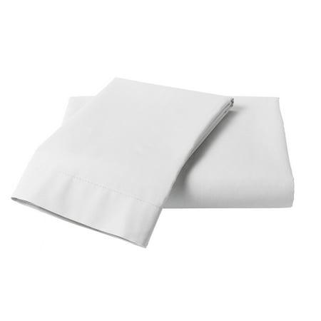 MISR Linen 3PCs Duvet Set Egyptian Cotton 400 Thread Count Solid Collection ()
