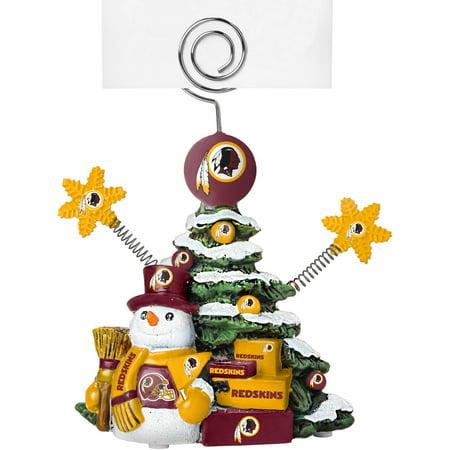 Nfl Holder (Topperscot by Boelter Brands NFL Tree Photo Holder, Washington Redskins)