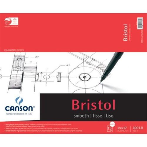 Canson Bristol Paper: Smooth, 14 x 17 inches