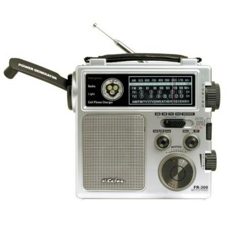 Eton FR300 Emergency Crank Radio (Discontinued by Manufacturer) (Eton Emergency Radio)