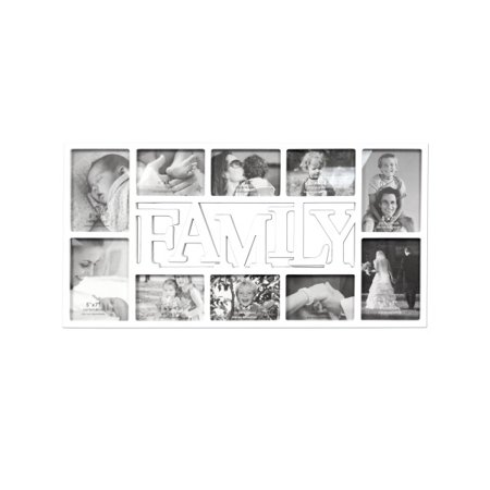 Large Family White Collage Photo Frame (Lot of 2) - Walmart.com