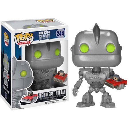 Funko 6412 POP Sci-Fi Iron Giant with Car