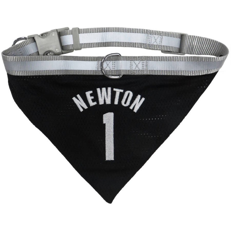 Pets First NFLPA Cam Newton Mesh Pet Bandana with Reflective, Adjustable Collar