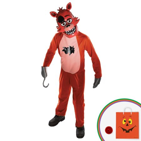 five nights at freddys foxy child costume kit with free gift