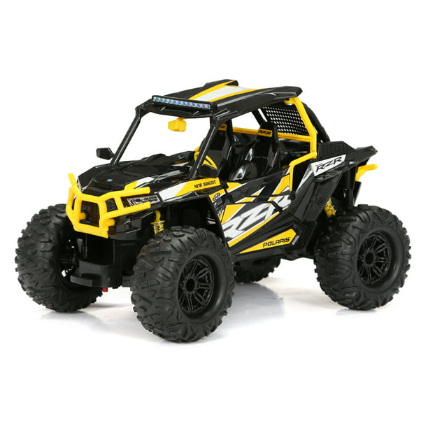 New Bright RC 1:14 Scale Remote Control 2020 Polaris RZR 2.4GHz USB - Yellow