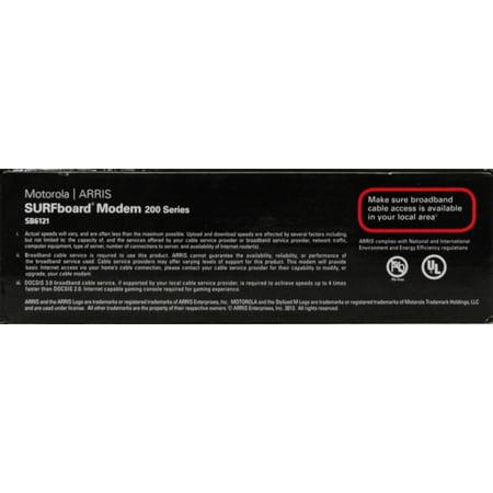 Arris Motorola Sb6121 Surfboard Docsis 3 0 Cable Modem