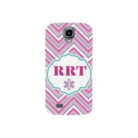 RRT Rapid Response Team Print Striped Pink Gray White Design Medical Phone Case for the Samsung Galaxy S4 - Medical Pa