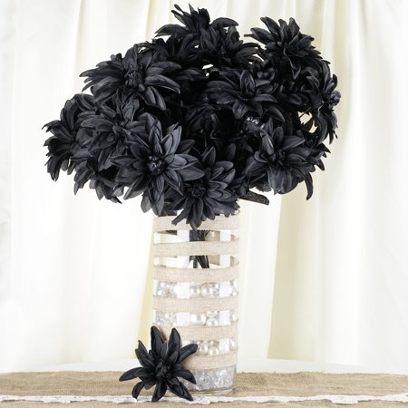 Efavormart 56 Artificial Dahlia Artificial Wedding Flowers for DIY Bouquets Centerpieces Arrangements Baby Shower Home Decorations