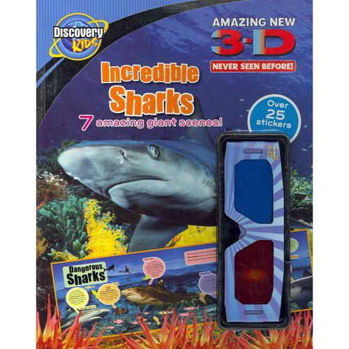 3-D Incredible Sharks