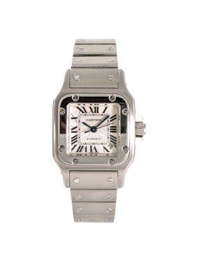 Pre-Owned Cartier Santos Galbee 2423 Steel Women Watch (Certified Authentic & Warranty)