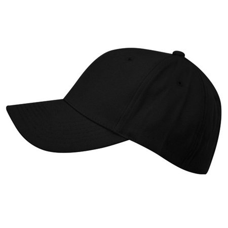 Unisex 6 Panel Plain Baseball  Cap - With Velcro Closure on Back of Hat - Deep Fit (Colors Available)](Plain Baseball Caps)