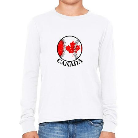 Canada Baseball Classic - World Vintage with Flag Boy