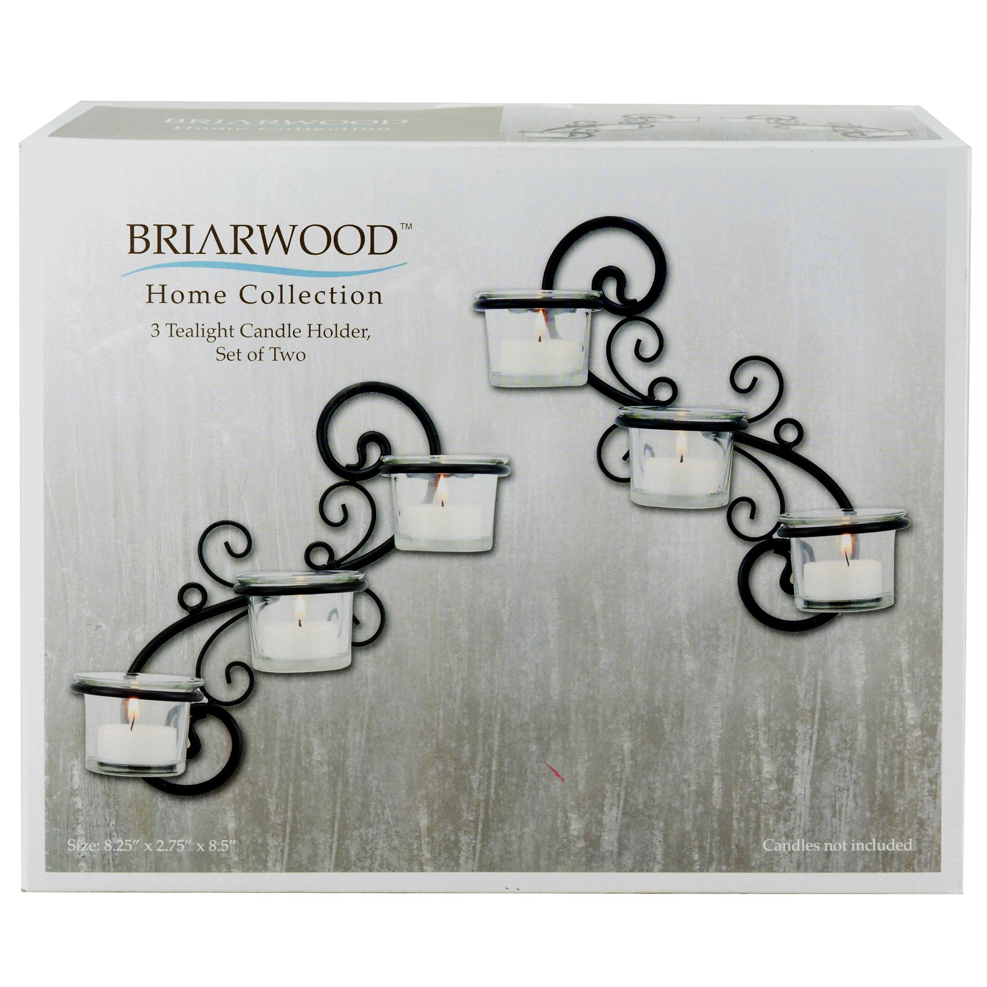 Stonebriar Collection Stonebriar Decorative Tea Light Candle Holder Wall Sconce Set,... by CKK HOME DᅢノCOR