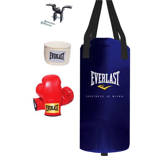 Everlast Youth Starter 25lb Heavy Bag Kit
