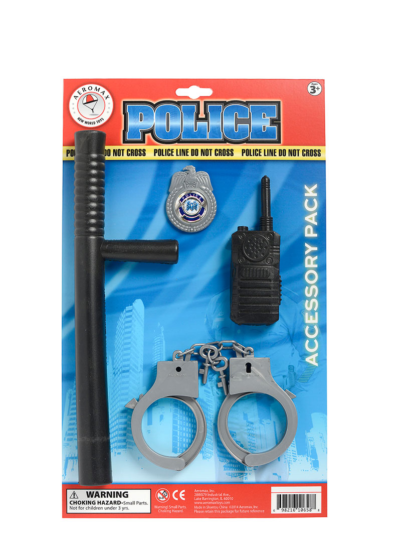 Police Officer Kit Child Halloween Accessory by Generic