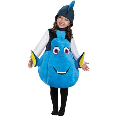 Morris Costumes DG10049 Dory Toddler Deluxe Costume - Doby Costume