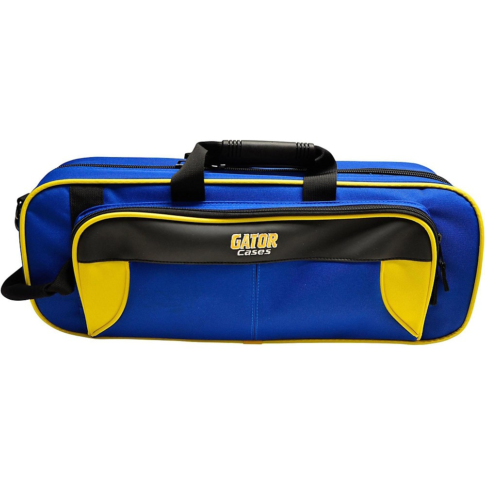 Gator Spirit Series Lightweight Trumpet Case Yellow and Blue