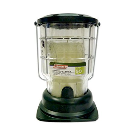 Mosquito Candle - 3 Pack Coleman Mosquito Repelling Citronella Candle Lantern, 50 Hours 7708