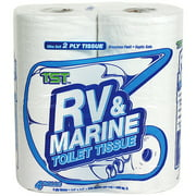 (12 Pack) Camco Toilet Paper, RV & Marine Fast Dissolving, 4 Rolls