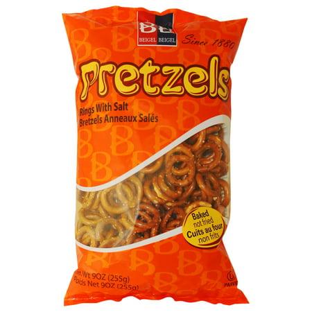 Sesame Pretzel Rings - B&B Pretzel Rings