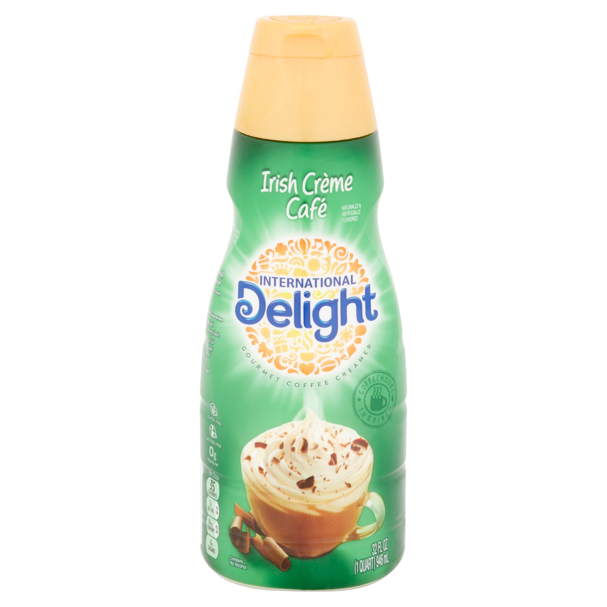 International Delight, Irish Creme Coffee Creamer, 32 Oz. - Walmart.com