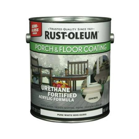 Rust-Oleum 262289 GAL WHT Semi Gloss Porch Paint ()