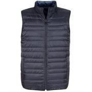 Michael Kors Mens Reversible Down Jacket, blue, XX-Large