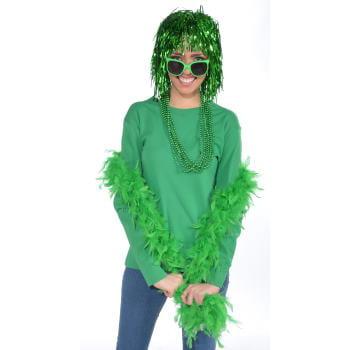 Green Boa Halloween Costume - Green Boa