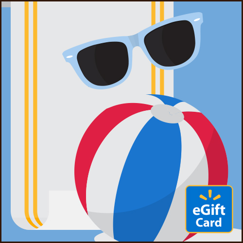 Beach Walmart eGift Card