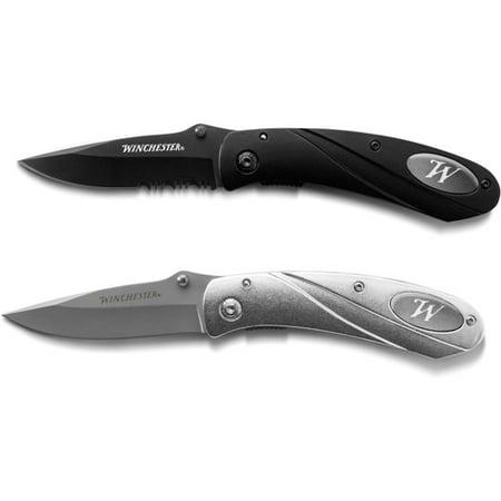Winchester 2 Piece Clip Knife Set Walmart Com