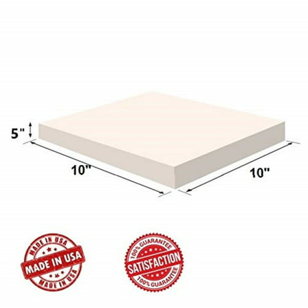 Upholstery Visco Memory Foam Square Sheet- 3.5 lb High Density 5