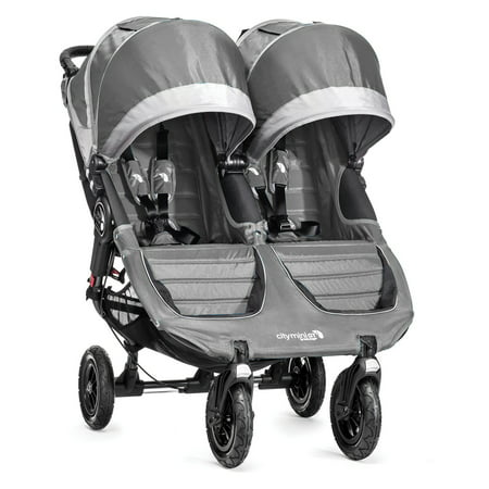 Baby Jogger City Mini GT Double Stroller, Steel (Baby Jogger City Series Double Stroller Reviews)