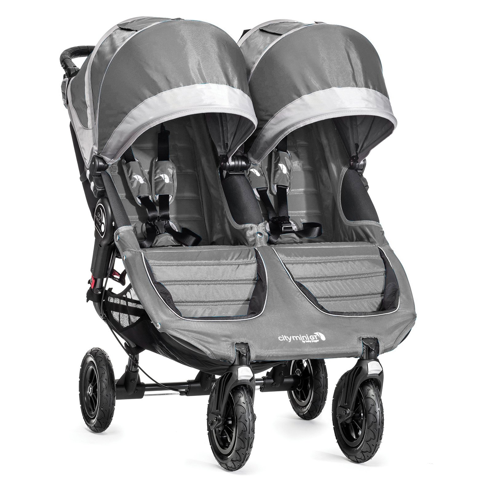 Baby Jogger City Mini GT Double - Steel Gray
