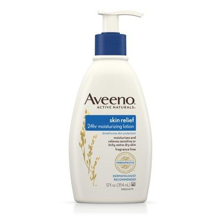 Aveeno Skin Relief Moisturizing Lotion For Sensitive Skin  12 Fl  Oz