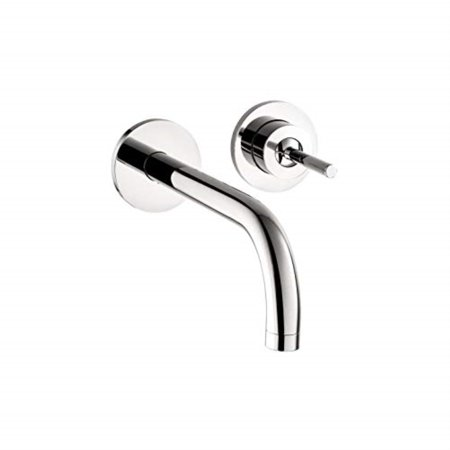 axor axor uno modern 1-handle 4-inch tall bathroom sink faucet in chrome, 38118001 Axor Uno 2 Handle
