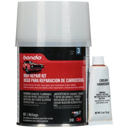 3M Bondo® Stage 3 Body Repair Kit 4 pc. Can