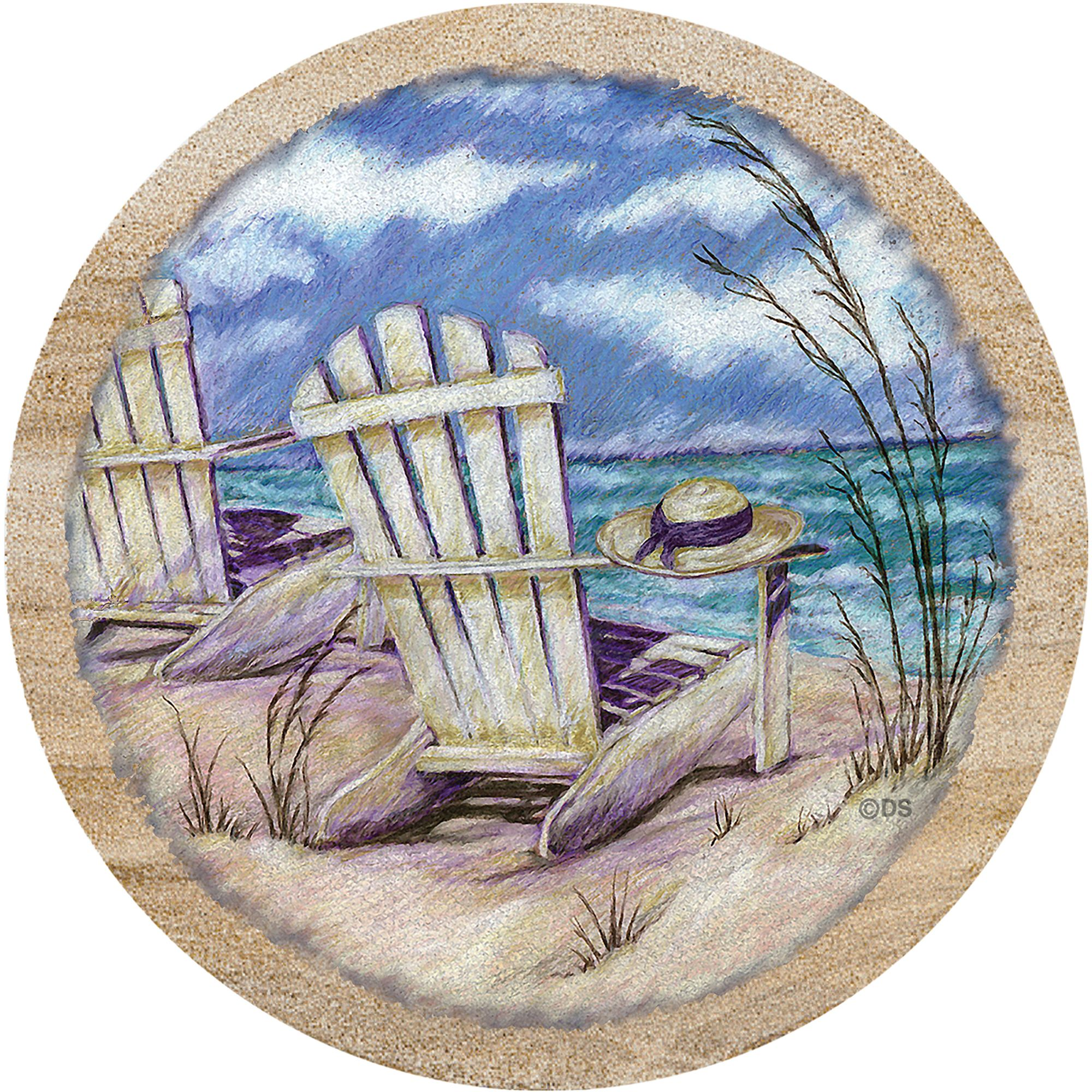 Thirstystone Drink Coasters Set, Summer Breeze